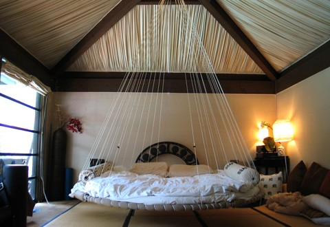 Bed swing BUNKS? I would like to see how this works! I bet kids would love it though! & So...a Bed Swing Would Be Nice Right? | ClassiclyAmber
