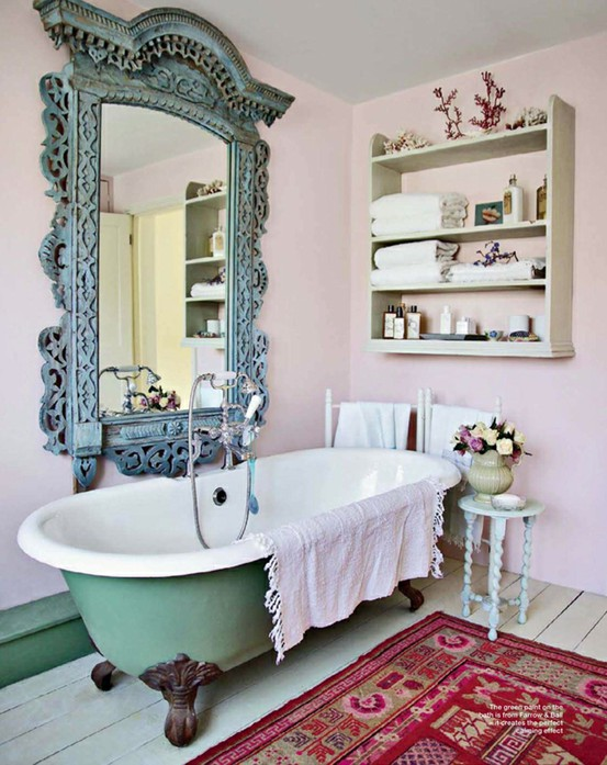 Colored Claw Foot Tubs | ClassiclyAmber