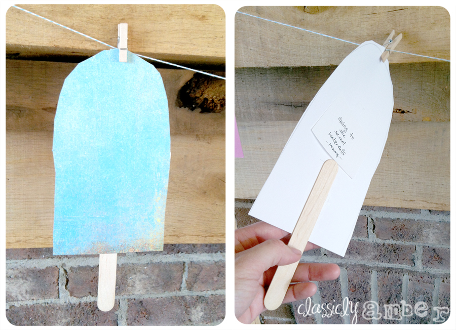 diy summer popsicle banner 2