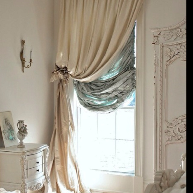 Valance With Blinds Window Treatments